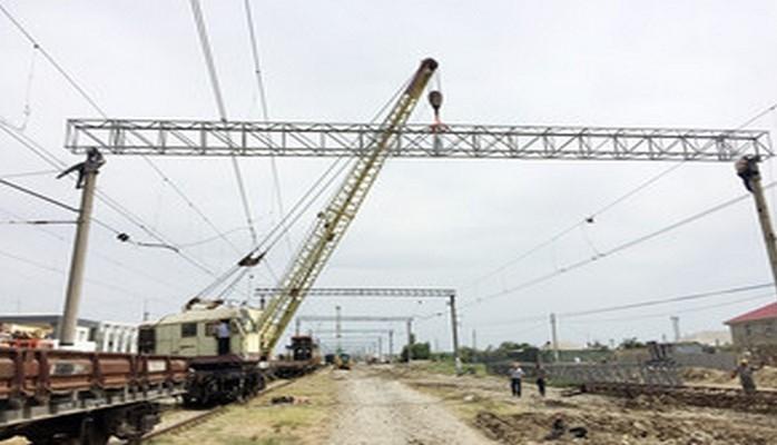 Реконструируется система электроснабжения Сумгайытской пассажирской станции