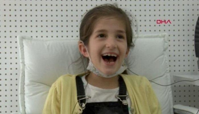 10 yaşında ilk kez duydu… Yaşadığı heyecan herkesi duygulandırdı