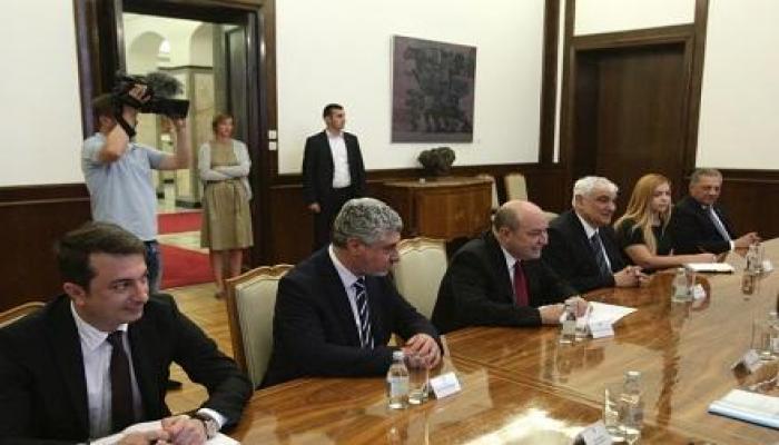 Serbiya prezidenti Kamal Abdulla ilə görüşdü