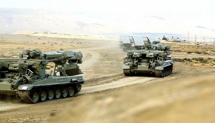 Azərbaycan Ordusunun əməliyyat təlimi başlayıb, yeni silahlar sınaqdan keçirilir
