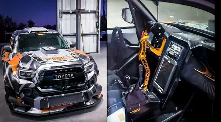 Круче не бывает: пикап Toyota Tacoma, заряженный 900-сильным мотором