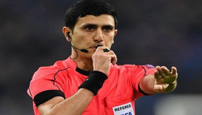 Рефери Алияр Агаев рассудит отборочный матч ЕВРО-2020
