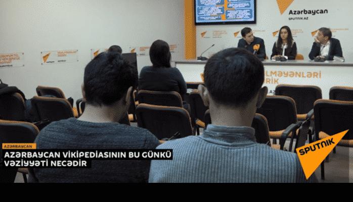 """Azərbaycan """"Vikipediya""""sının bu günkü vəziyyəti"""