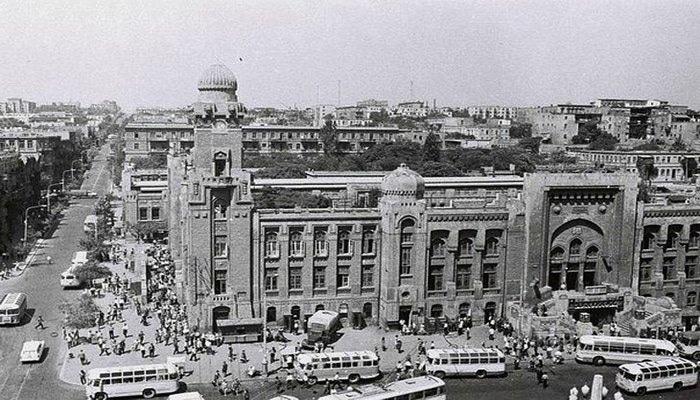 Сабунчинский вокзал Баку в 1940-1990-х годах (ФОТО)