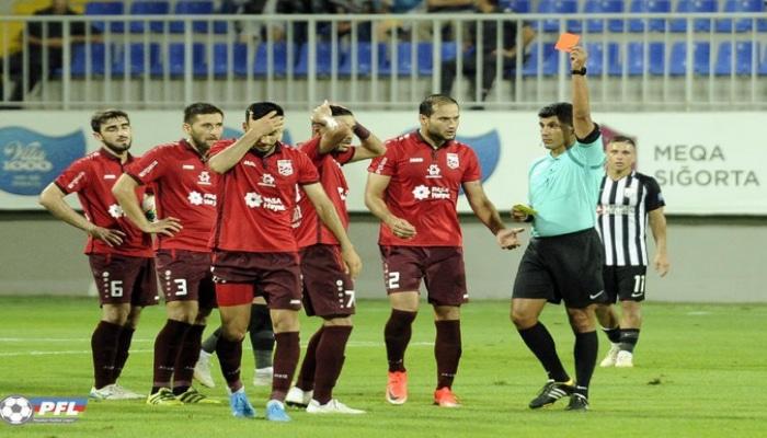 Названы самые недисциплинированные клубы Премьер-лиги Азербайджана