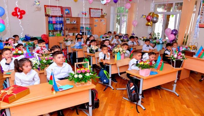Названа статистика по приему в первый класс бакинских школ