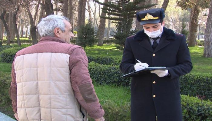 МВД Азербайджана о нарушителях особого карантинного режима