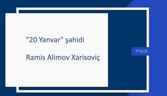 Alimov Ramis Xarisoviç