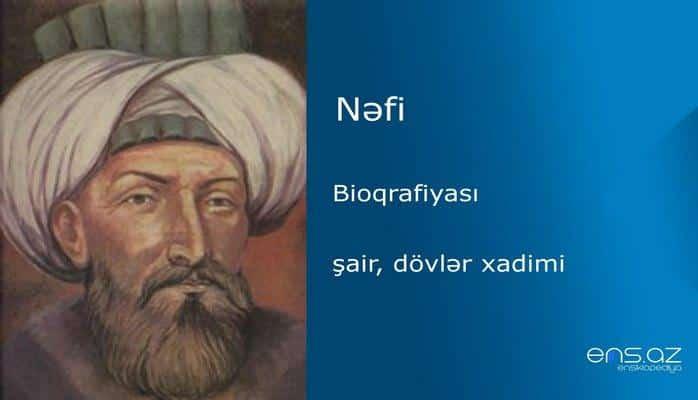 Nəfi - Ömər bəy Şahməhəmməd bəy oğlu Zülqədər