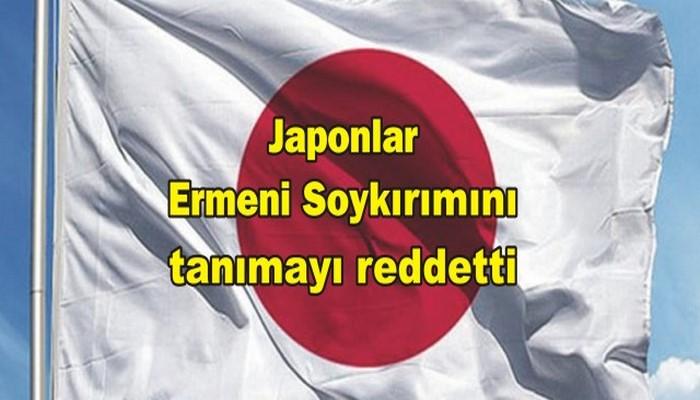 Japonlar Ermeni Soykırımını tanımayı reddetti