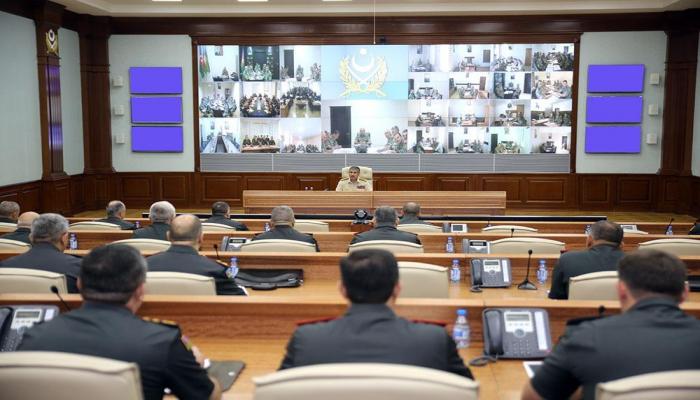 Закир Гасанов: Самая главная задача, поставленная Верховным главнокомандующим перед нами – высокая боевая готовность