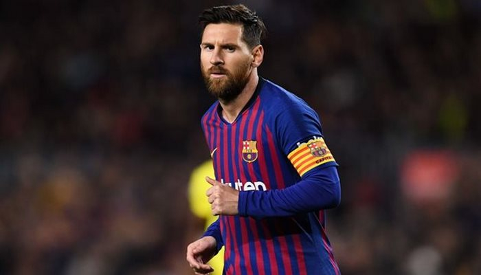 "Lionel Messi: ""Kriştianu Ronaldunun yeri bilinir"""