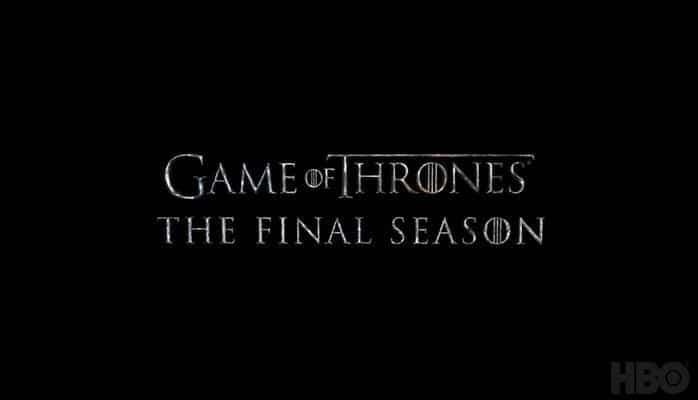 """Опубликован трейлер последнего сезона """"Игры престолов"""