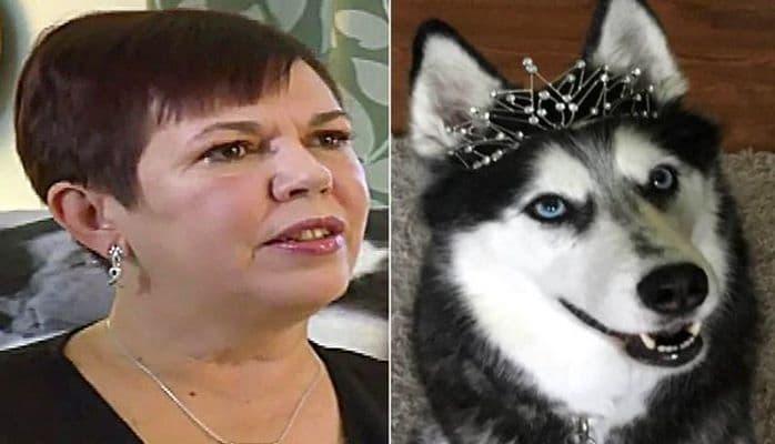 Собака спасла хозяйку от рака