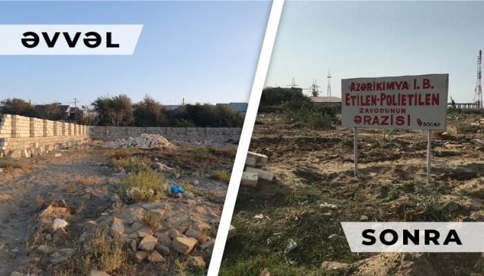 Sumqayıtda zavod ərazisinin zəbt olunmasının qarşısı alınıb