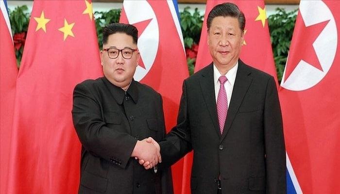 Çin Devlet Başkanı Şi Cinping Kuzey Kore'ye gitti .