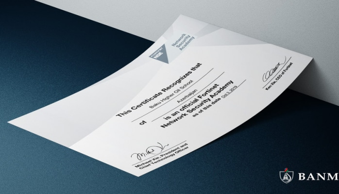 БВШН стал членом всемирно известной Академии сетевой безопасности Fortinet