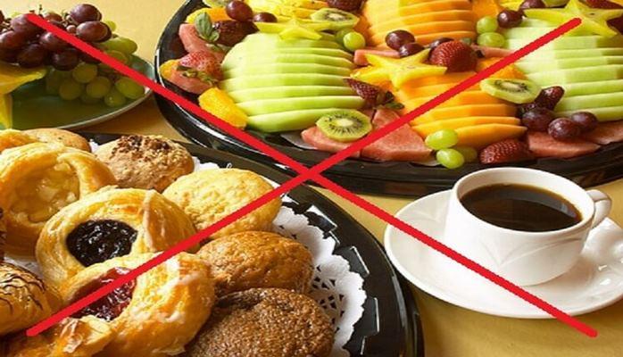 Продукты, которые не рекомендуют есть на завтрак