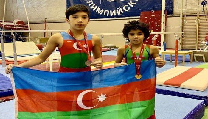 Гимнасты из Азербайджана завоевали медали в Москве
