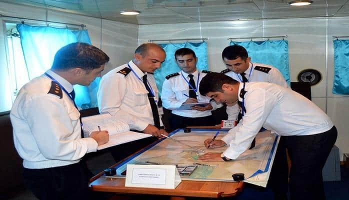 Военно-морские силы Азербайджана проводят командно-штабные учения