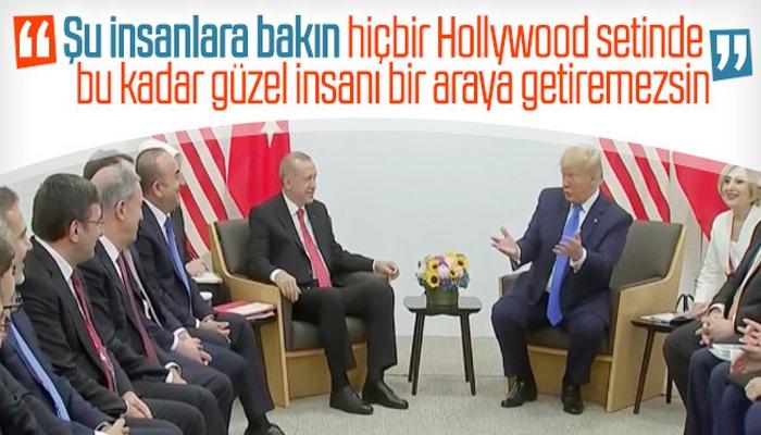 Donald Trump, Türk heyetine övgüler yağdırdı