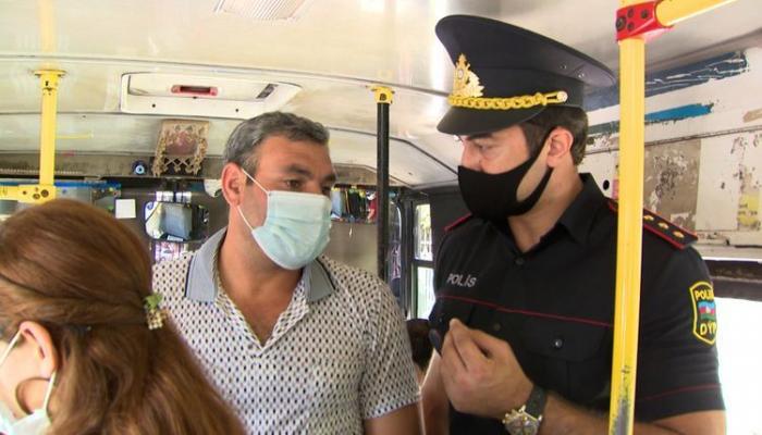 В Абшеронском районе проведен рейд, оштрафованы лица, не использовавшие маски