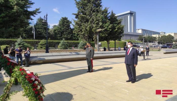 Состоялась поминальная церемония в связи со 102-й годовщиной освобождения Баку от армяно-большевистской оккупации