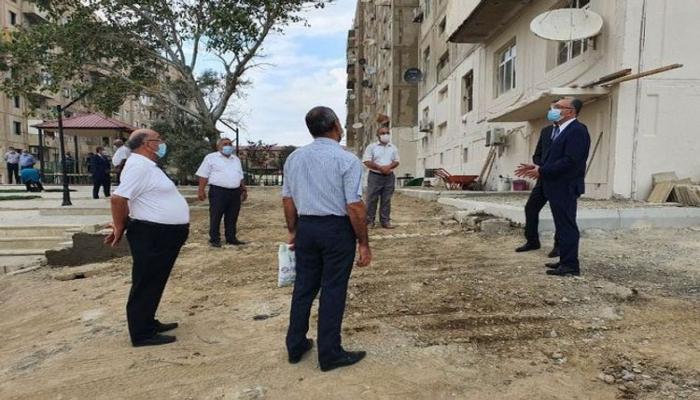 Эльдар Азизов сделал предупреждение в связи с незаконными постройками в Гарадагском и Хазарском районах
