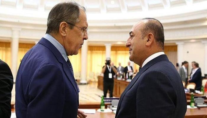 Чавушоглу и Лавров обсудили вопросы Сирии и Ливии