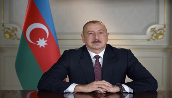 Президент Ильхам Алиев поздравил президента Непала