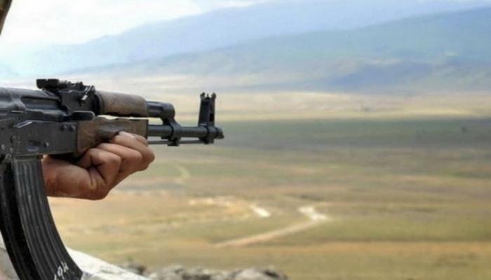 Армяне ранили азербайджанского солдата