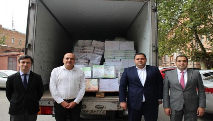 Учебники для азербайджанских школ переданы Министерству образования Грузии
