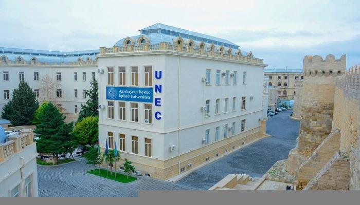 Сотрудники UNEC удостоены почетных званий