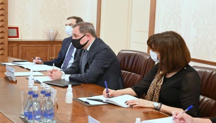 Джейхун Байрамов встретился со специальным представителем ЕС по Южному Кавказу