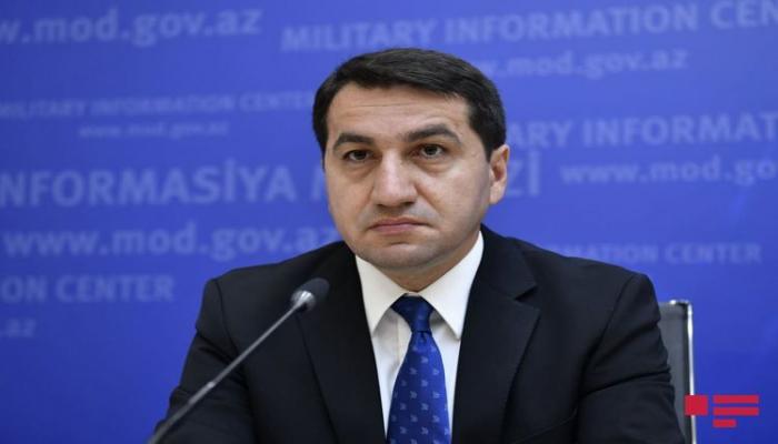 Хикмет Гаджиев: В Армении создается большое количество ложной информации