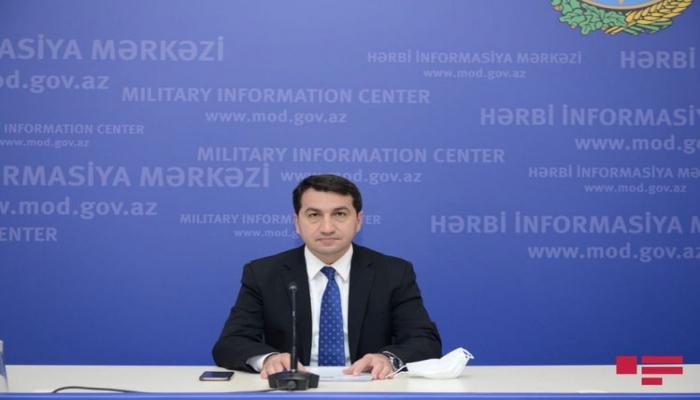 Хикмет Гаджиев: Цель лжи, распространяемой Арменией в связи с генералом Маисом Бархударовым - уменьшить панику в своем обществе