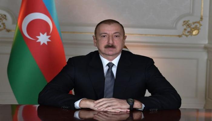 Президент Ильхам Алиев поздравил президента ФРГ