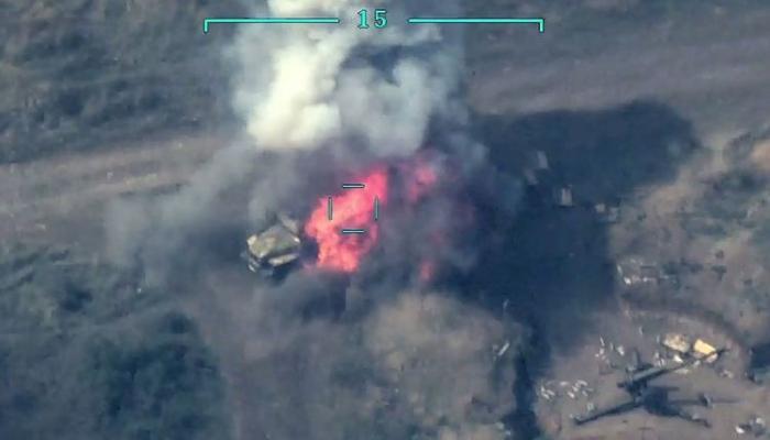 Уничтожено ещё несколько единиц боевой техники противника