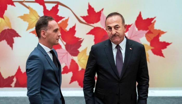 Главы МИД Турции и Германии обсудили ситуацию в Нагорном Карабахе