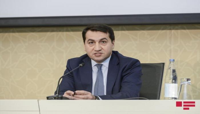 Хикмет Гаджиев: Вчера два армянских самолета «Су-25» врезались в гору и взорвались