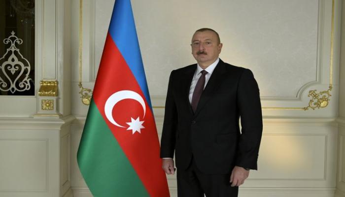 Президент Азербайджана: Наше дело правое, мы сражаемся на своей земле