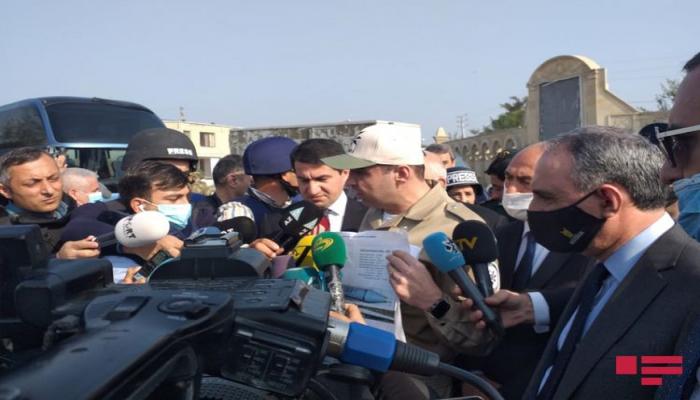 """ANAMA-nın direktoru: """"Bərdəyə atılan raketin dinc əhaliyə qarşı istifadəsi qadağandır"""""""