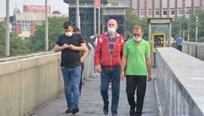 İstanbul'da maske zorunluluğunun ilk günü!