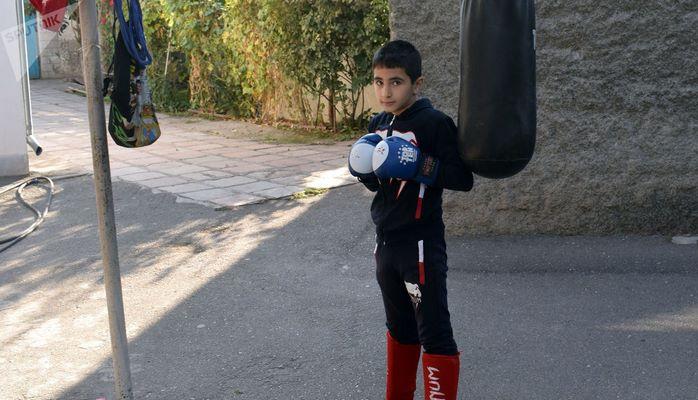 Маленький кикбоксер: хочу быть похожим на Забита Самедова