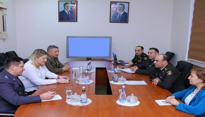 В Баку прошла встреча военных экспертов Азербайджана и Польши