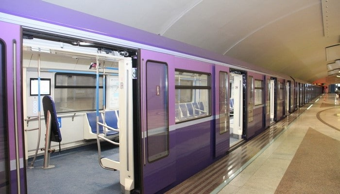 Новые составы для Бакинского метрополитена доставят в мае