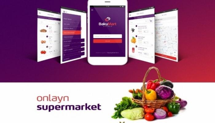 В Азербайджане создан онлайн-супермаркет
