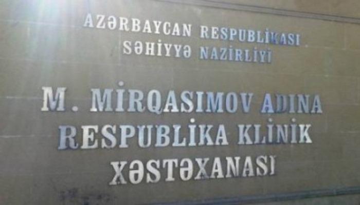 """""""Respublikanski"""" xəstə qəbulunu dayandırdı - Rəsmi açıqlama"""