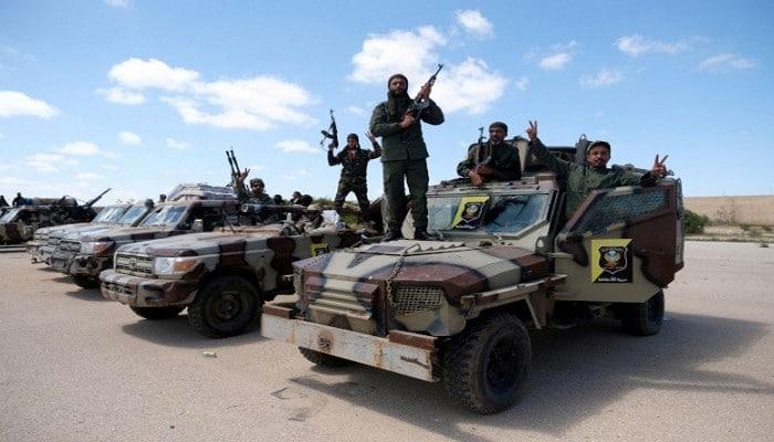 Ливийская армия сообщила, что сбила турецкий беспилотник к востоку от Триполи