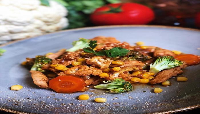 Вкусная курица с овощами - Рецепт от азербайджанского фуд -блогер